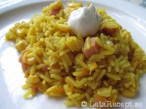 ris och korv