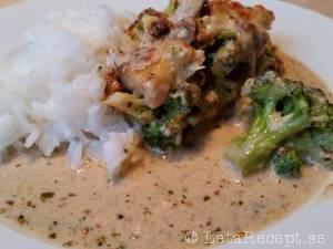 kyckling ris broccoli recept